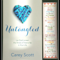 Untangled: Let God Loosen the Knots of Insecurity in Your Life (Autographed Copy w/Free Bookmark)