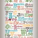 Who is God To Me Printable
