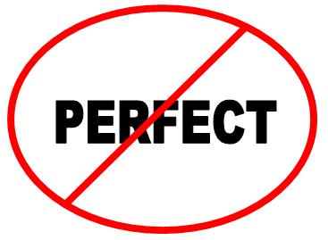 THE PRISON OF PERFECTIONISM:  I'm Not Good Enough