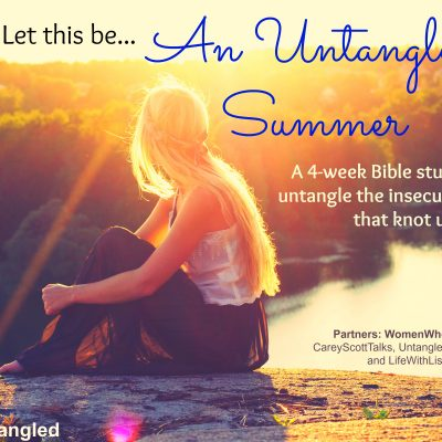 """An Untangled Summer"" Bible study"