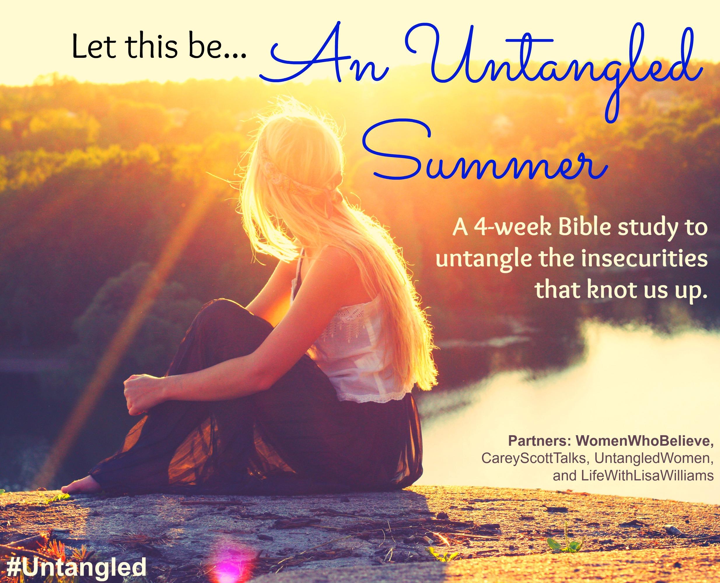 """""""An Untangled Summer"""" Bible study"""