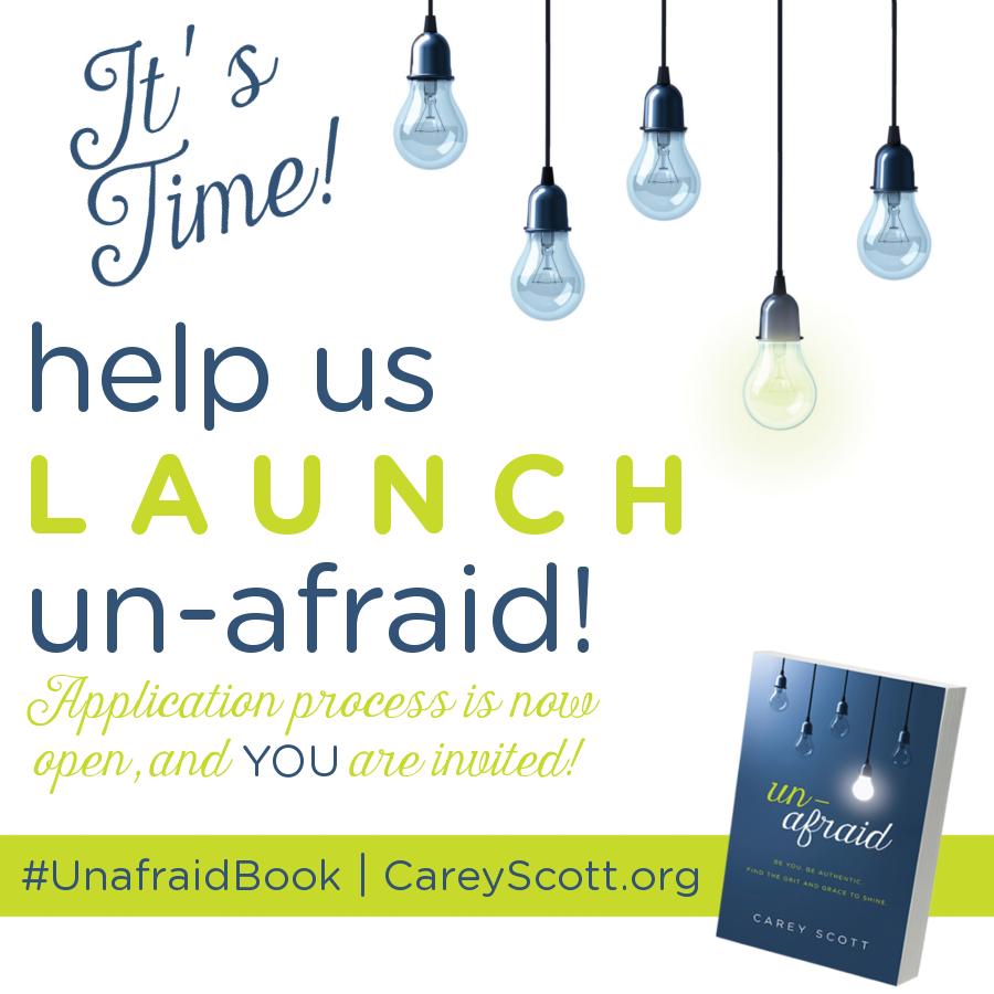 Join the Unafraid Launch Team!