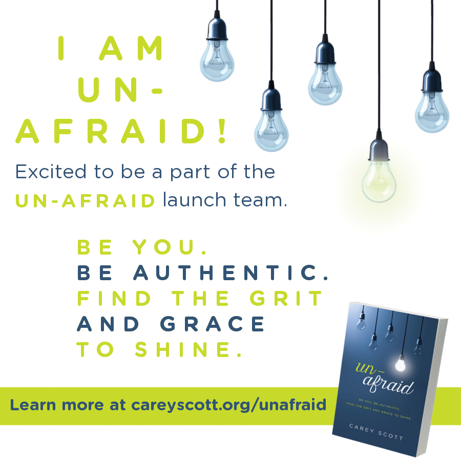 Unafraid Launch Team Participant
